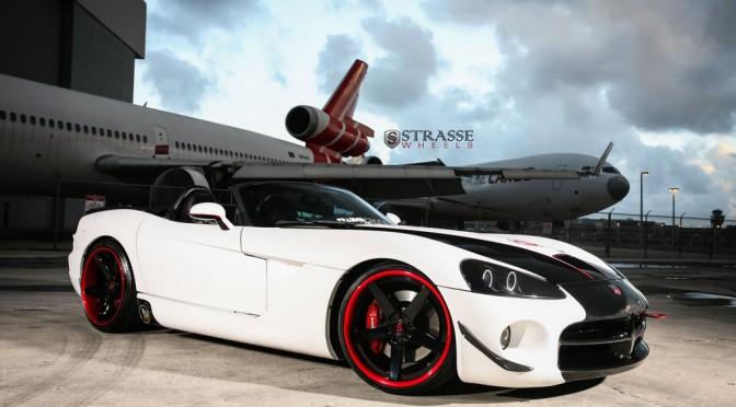 Strasse Wheels - Dodge Viper SRT10 - S5 Deep Concave Wheels