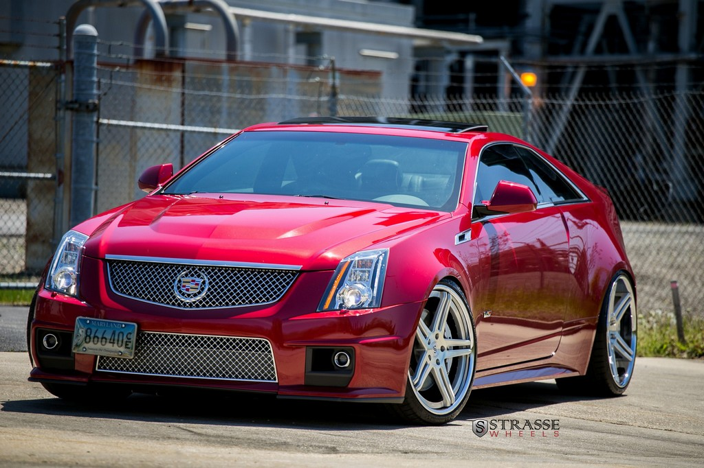Cadillac CTSV - Strasse Wheels - High Performance & Luxury ...