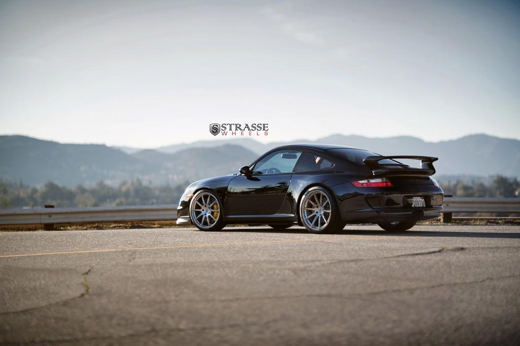 Porsche 997 Gt3 R10 Deep Concave Monoblocks Strasse