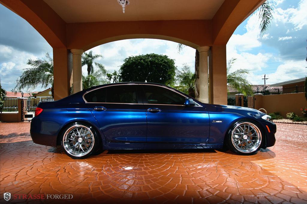 Bmw F10 550i Strasse Wheels High Performance Amp Luxury