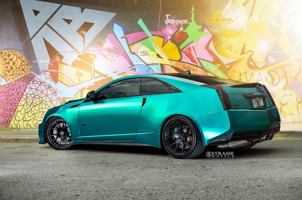 Cadillac Cts V Coupe Strasse Wheels High Performance