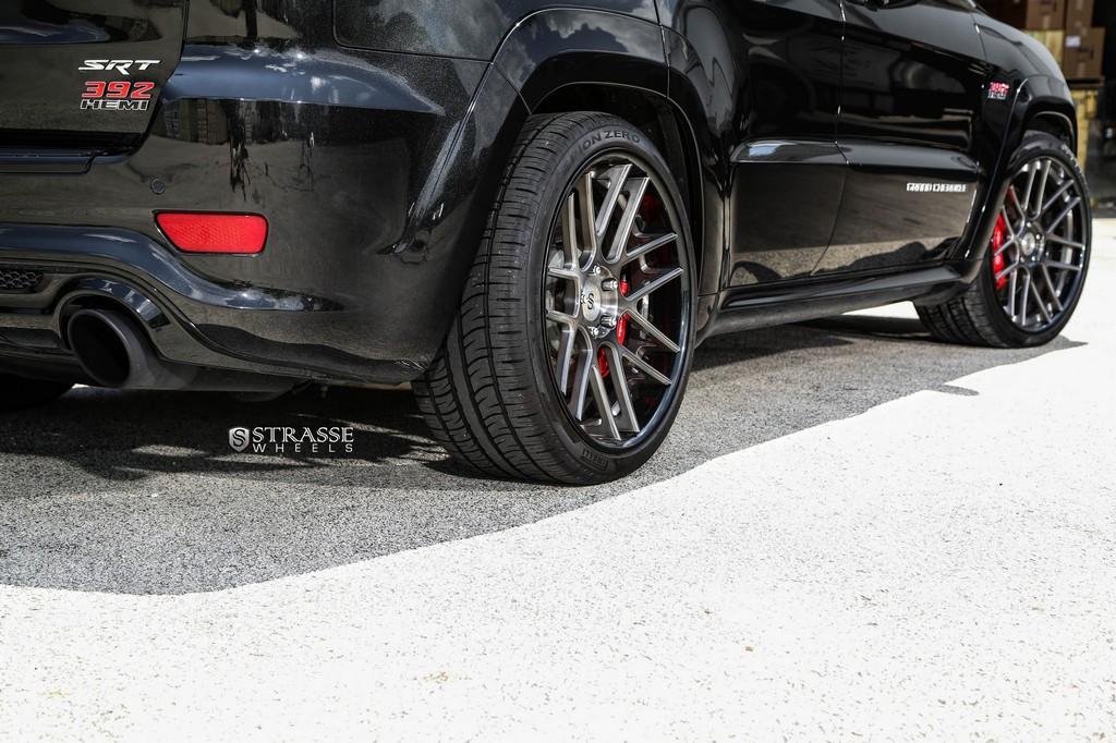Jeep Grand Cherokee Srt Strasse Wheels High
