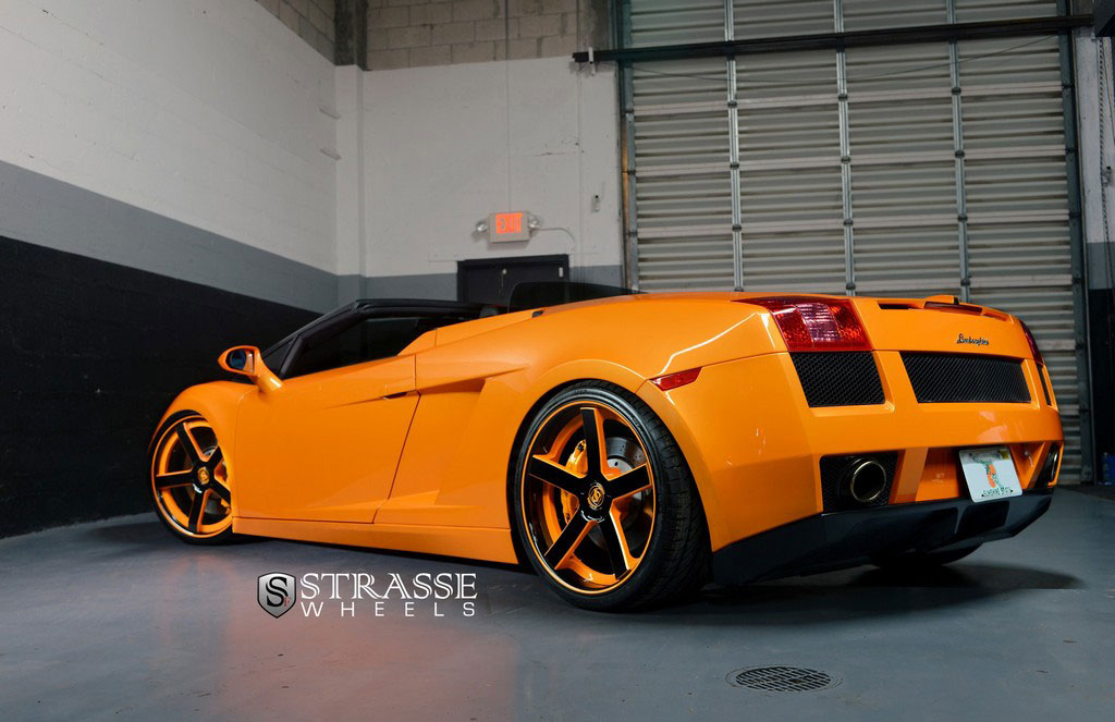 lamborghini gallardo spyder strasse wheels high performance luxury. Black Bedroom Furniture Sets. Home Design Ideas