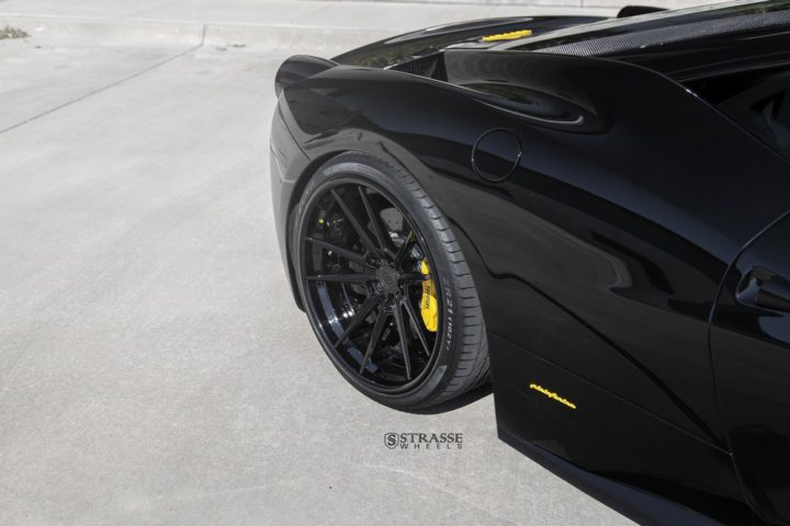 Strasse Wheels Ferrari 458 Italia Black SV1 11
