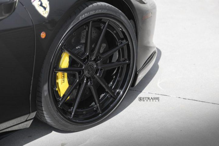 Strasse Wheels Ferrari 458 Italia Black SV1 3