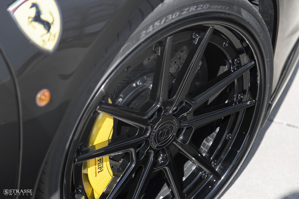 Strasse Wheels Ferrari 458 Italia Black SV1 5