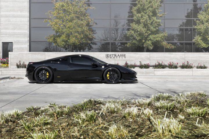 Strasse Wheels Ferrari 458 Italia Black SV1 6