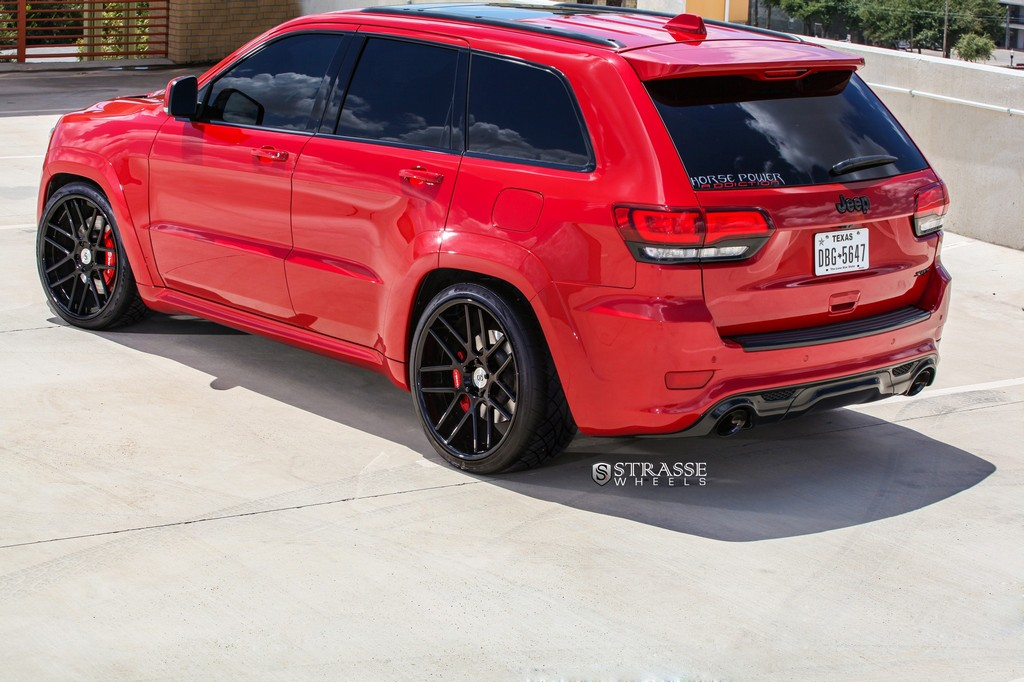 Strasse Wheels - Jeep Grand Cherokee SRT - SM7 Deep Concave 10