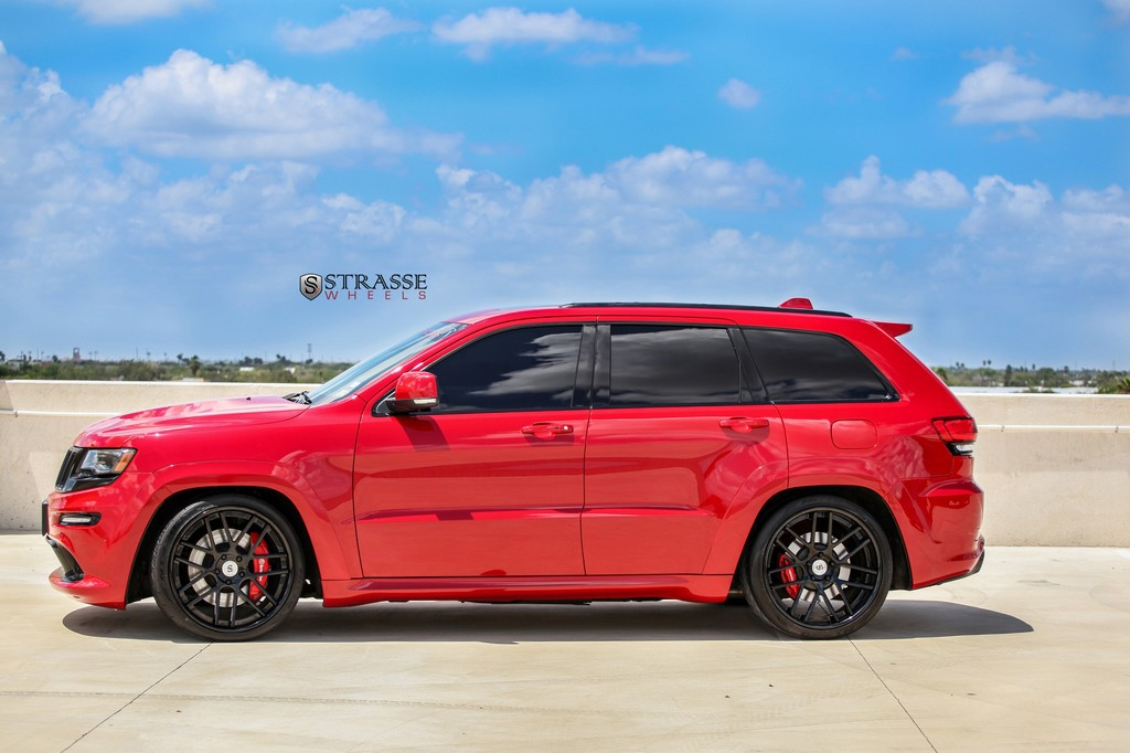 Strasse Wheels - Jeep Grand Cherokee SRT - SM7 Deep Concave 2