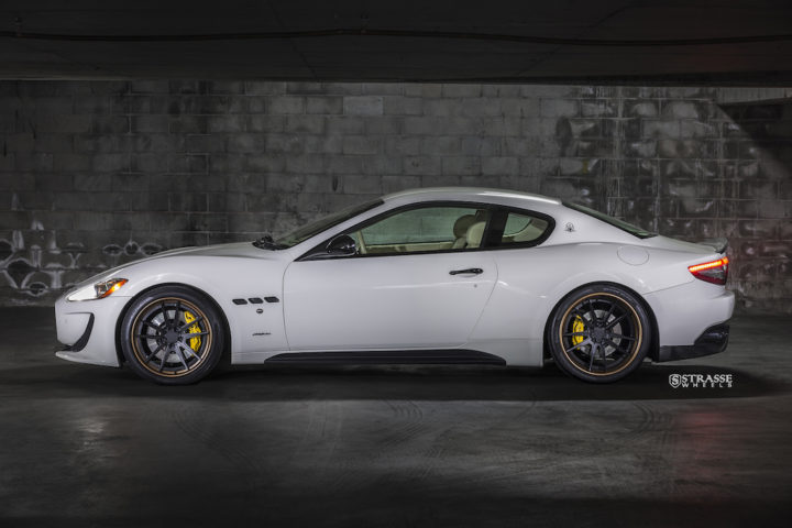 Strasse Wheels - Maserati Gran Turismo S - 20:21 SV1 Deep Concave FS 3