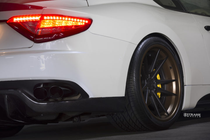 Strasse Wheels - Maserati Gran Turismo S - 20:21 SV1 Deep Concave FS 7