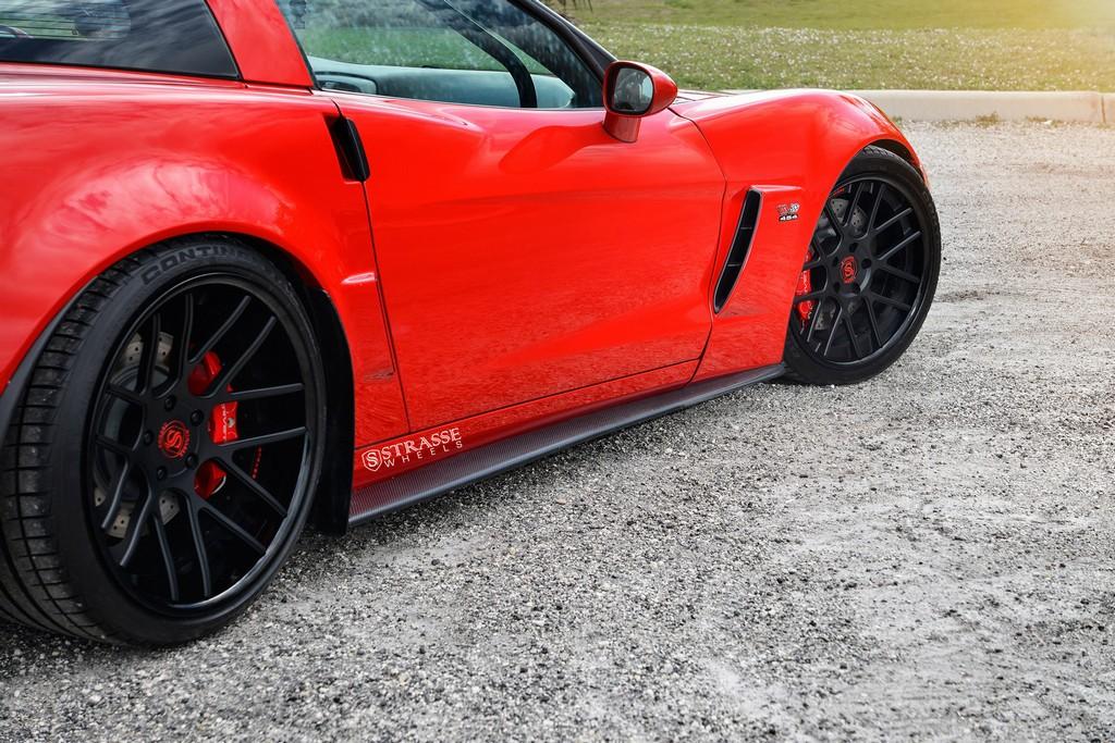 Chevrolet Corvette C6 Z06 Strasse Wheelsstrasse Wheels High Performance Amp Luxury Wheels
