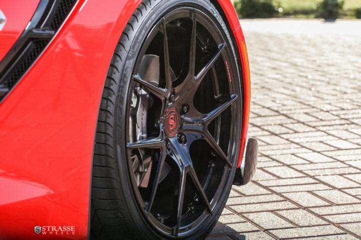 Strasse Wheels Corvette C7 Stingray SM5R 5