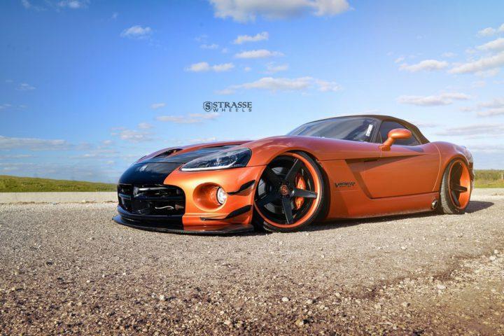 Strasse Wheels Dodge Viper S5 1
