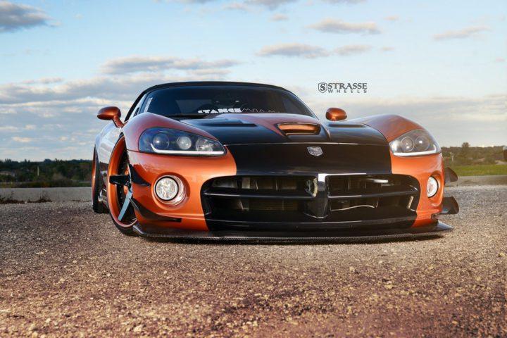 Strasse Wheels Dodge Viper S5 2