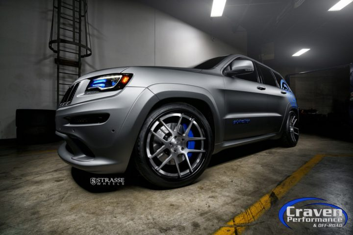 Strasse Wheels Supercharged Jeep SRT 5