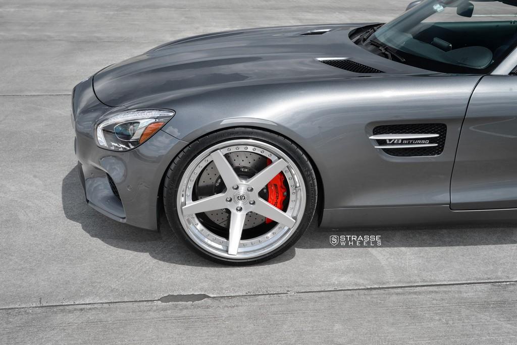 Strasse Wheels AMG GTs 4