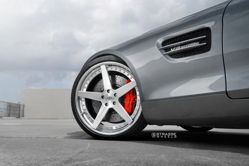 Strasse Wheels AMG GTs 7