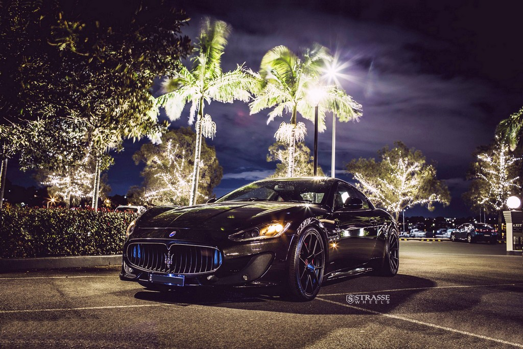Strasse Wheels Maserati Gran Turismo S Black 4