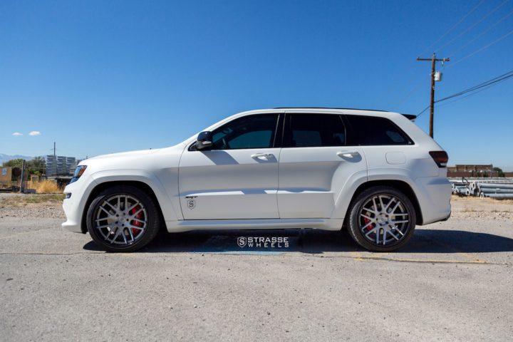 "Strasse Wheels - Jeep Grand Cherokee SRT - 22"" SM7 Deep Concave Wheels 5"