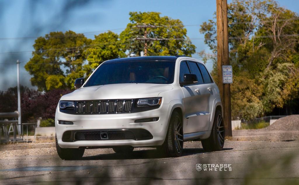 "Strasse Wheels - Jeep Grand Cherokee SRT - 22"" SM7 Deep Concave Wheels 7"