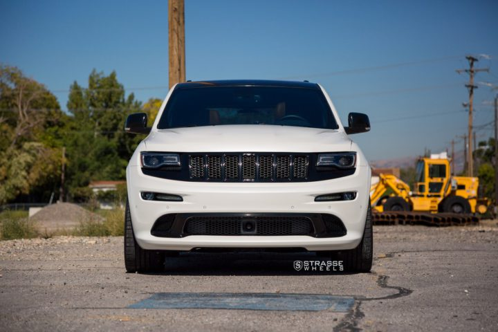 "Strasse Wheels - Jeep Grand Cherokee SRT - 22"" SM7 Deep Concave Wheels 4"
