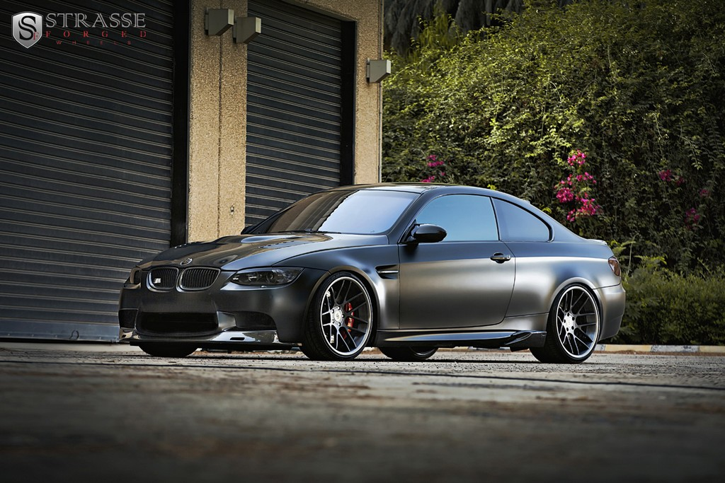 Highly Modified Frozen Black Bmw E92 M3