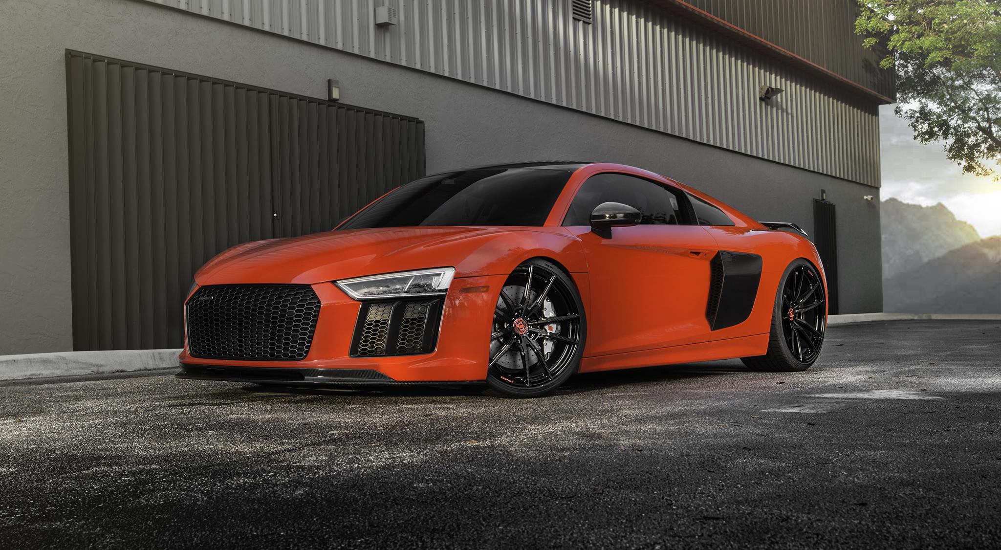 Audi R8 V10 Plus Carbon Fiber Sv1 Deep Concave Monoblock Strasse
